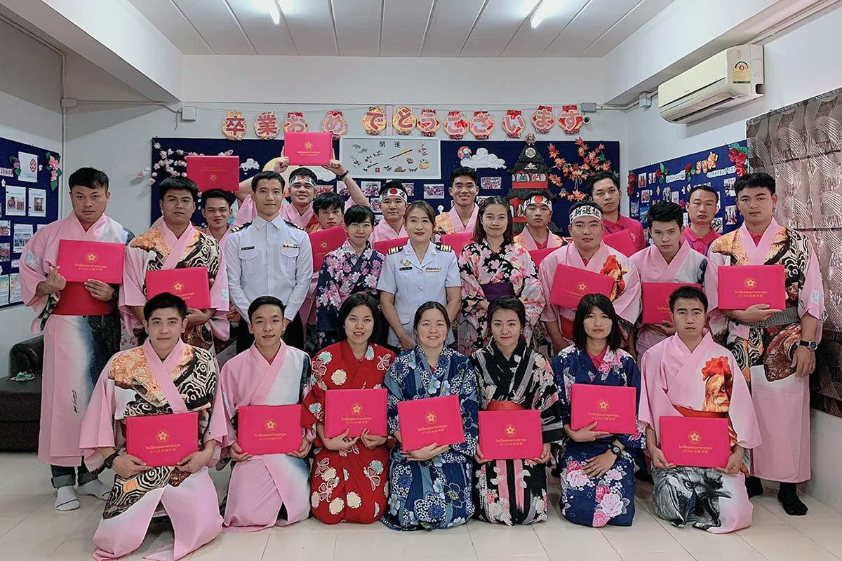さくら日本語学校 卒業式 2020.02.28